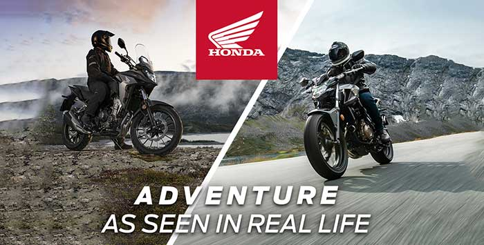 Adventure As Seen In Real Life Event: Motorcycle