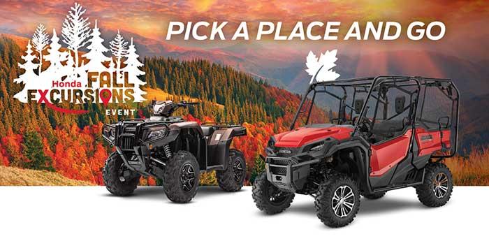 Fall Excursions Event: ATV & SXS