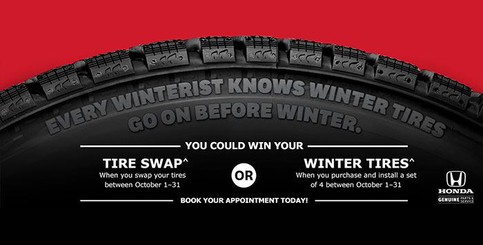 Win Your Tire Swap In October
