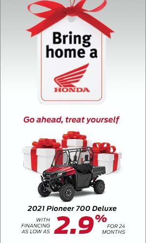 Save on Honda Side-by-sides now