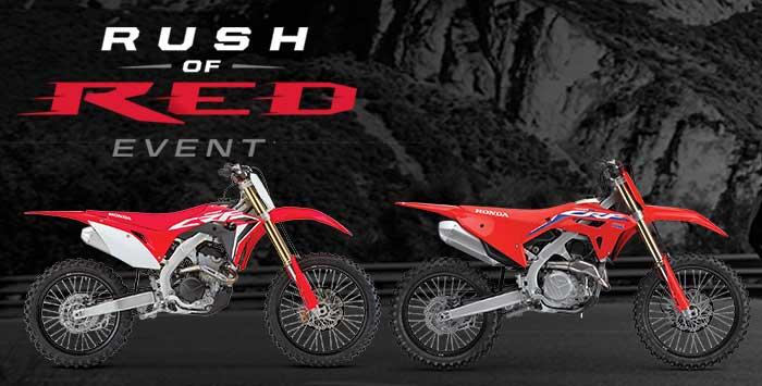 Rush of Red Event: Motorcycle