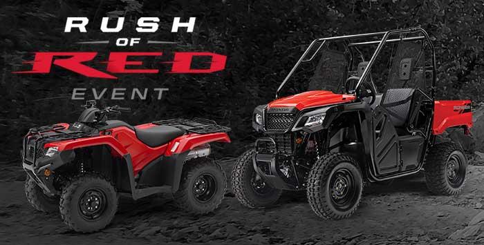 Rush of Red Event: ATV & SXS