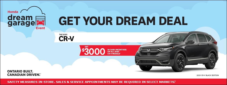 Save on CR-V at Kanata Honda
