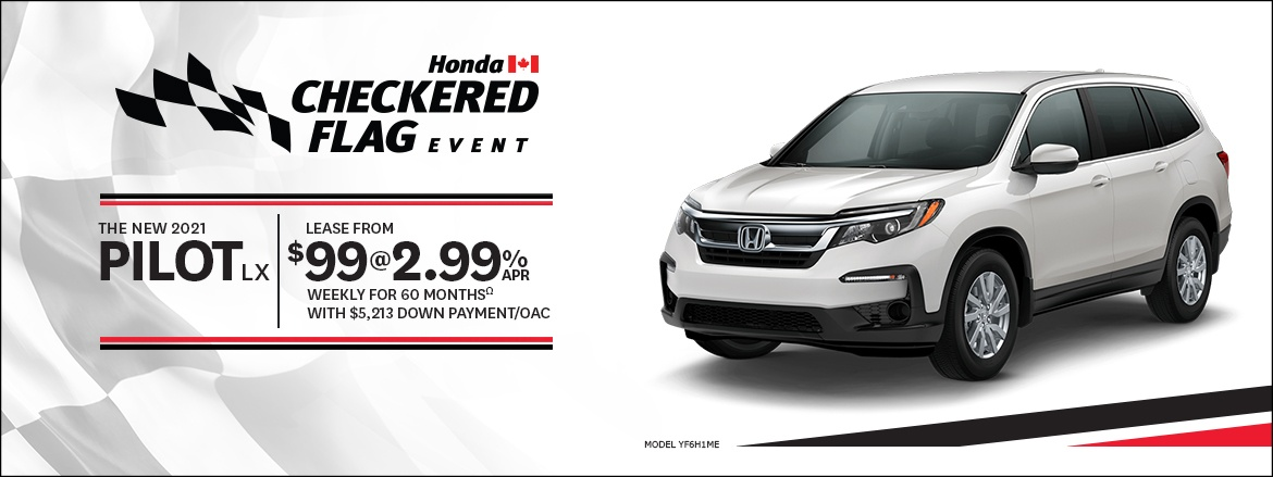 Save on Pilot at Kanata Honda