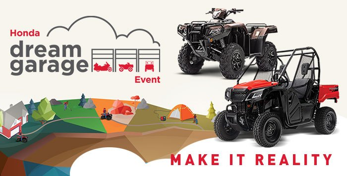 Dream Garage Event: ATV + SxS
