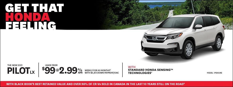 Get That Honda Feeling at Kanata Honda