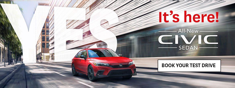All New 2022 Honda Civic is at Kanata Honda