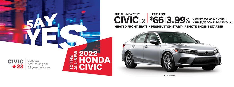 Save on Civic at Kanata Honda