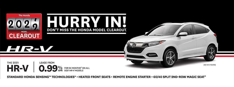 Save on the 2021 HRV at Kanata Honda