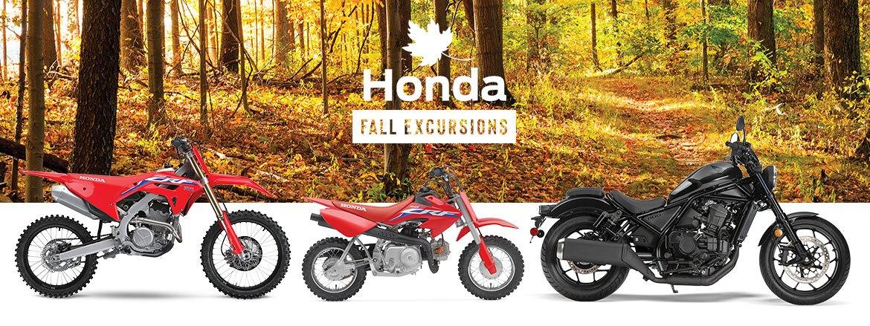 Save on Honda Motorcycles at Kanata Honda