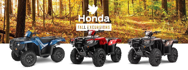 Save on ATVs at Kanata Honda